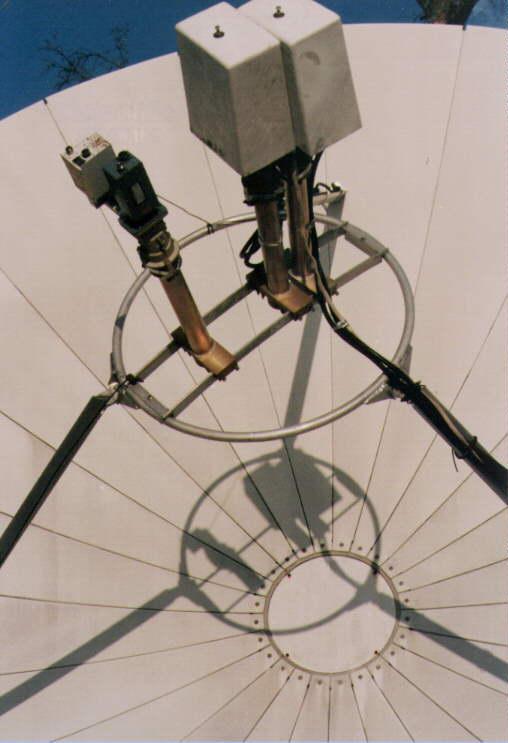 AFC Multi-satellite Dish Antenna Feed Data Sheet